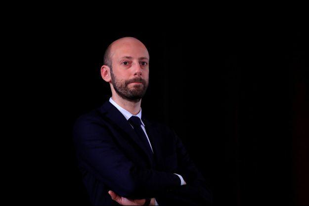 Le délégué général de LREM Stanislas Guérini, ici à Paris en mars 2019.