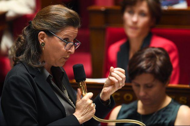 Agnès Buzyn à l'Assemblée nationale, mercredi.