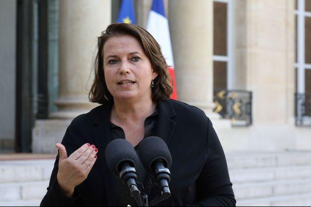 Claire Hédon, ici à l'Elysée en octobre 2017.