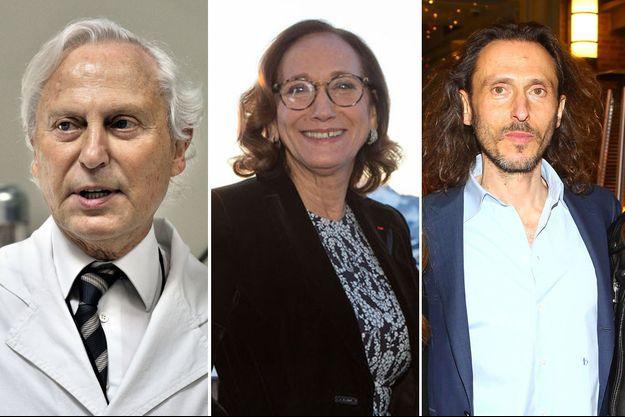 Francis, Françoise et David Holder, respectivement en 2011, 2015 et 2016