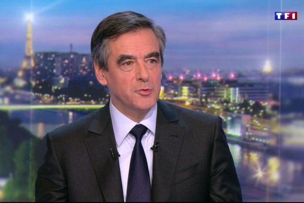 François Fillon le 3 janvier 2017 sur TF1
