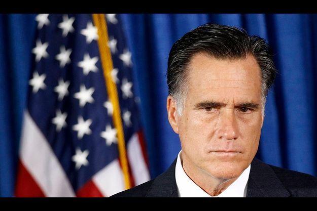 Mitt Romney, lors d'une conférence de presse.