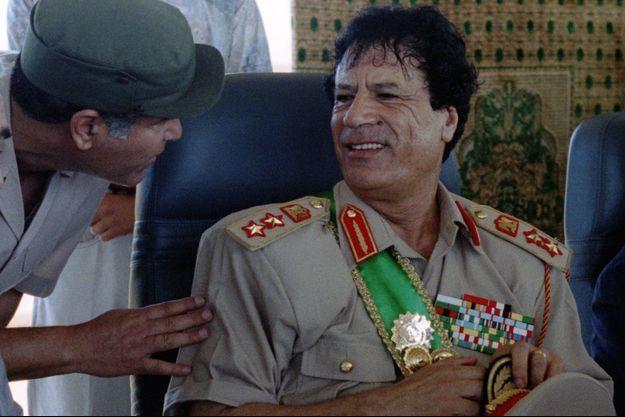 Le colonel Kadhafi en 1994.