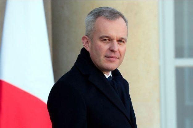 François de Rugy à l'Elysée, mi-février.