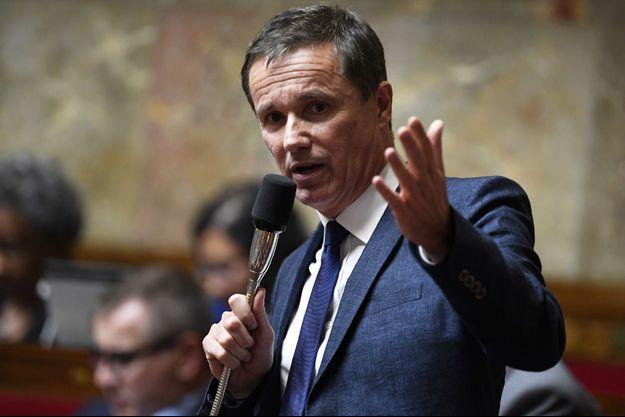 Nicolas Dupont-Aignan en juin à l'Assemblée.