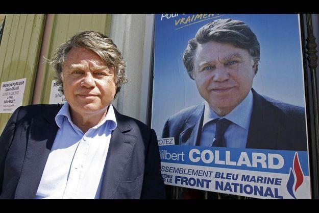 Gilbert Collard a été élu dans le Gard.