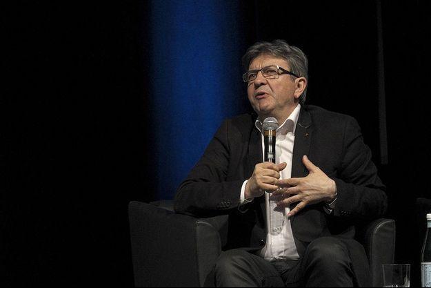 Jean-Luc Mélenchon au Canada, en avril 2015.