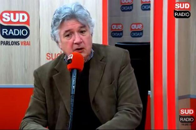 Jean-François Barnaba, sur Sud Radio vendredi.