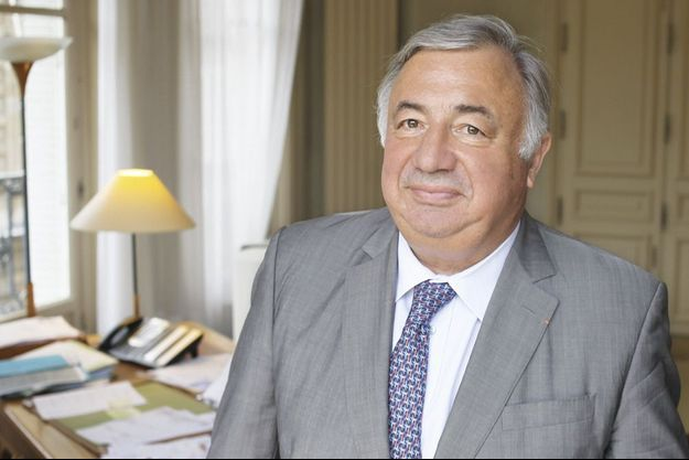 Gérard Larcher, le président de la Haute Assemblée.