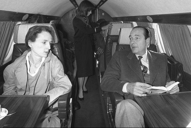 La Une de Paris Match n°3492, avec Laurence Chirac et la famille Chirac.