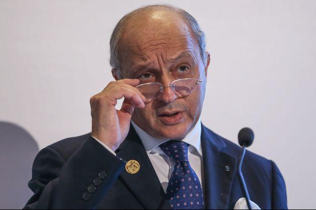 Le ministre français des Affaires étrangères, Laurent Fabius.
