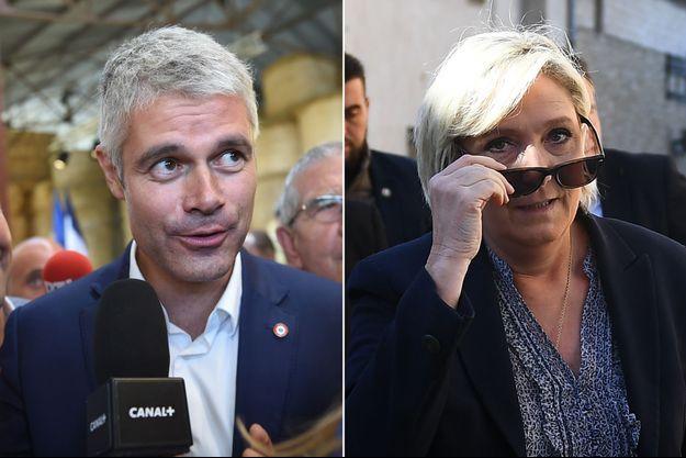 """Laurent Wauquiez attend d'avoir """"les clés de la boutique"""" LR pour affronter la leader du FN."""