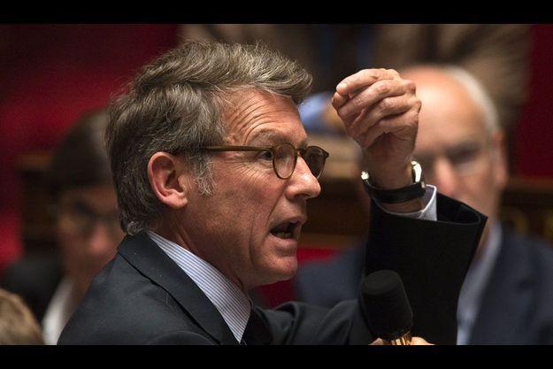 Vincent Peillon à l'Assemblée nationale, le 9 octobre.