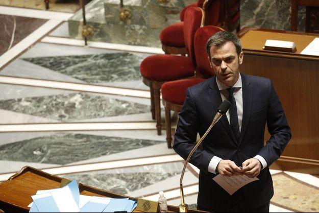 Olivier Véran ici à l'Assemblée nationale le 31 mars.