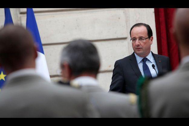 François Hollande, le 21 décembre.