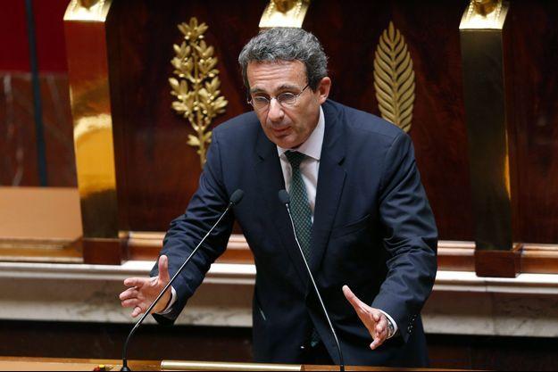 Jean-Christophe Fromantin à la tribune de l'Assemblée nationale, en juillet 2014.