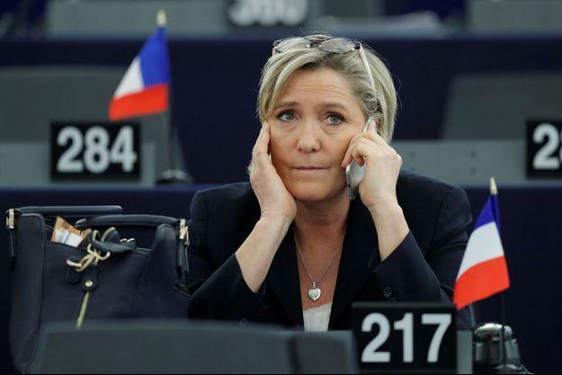 Marine Le Pen à Strasbourg le 17 janvier.