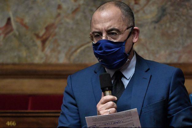 Le député Bruno Questel, en janvier à l'Assemblée.
