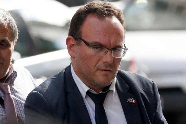 Le député LR Damien Abad , ici en juillet 2017.