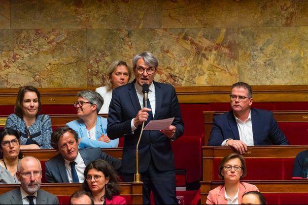 Pierre Cabaré à l'Assemblée nationale en mars dernier.