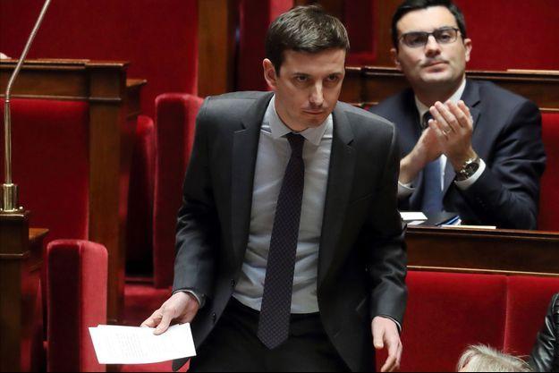Le député de la République en Marche Aurélien Taché à l'Assemblée en février 2018.