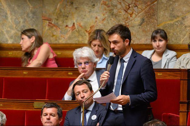Le député Pierre Henriet à l'Assemblée nationale en juillet 2019.
