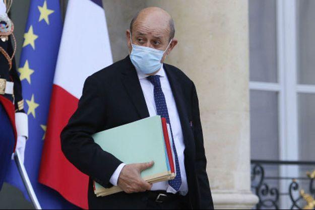 Jean-Yves Le Drian, à l'Elysée mi-octobre.