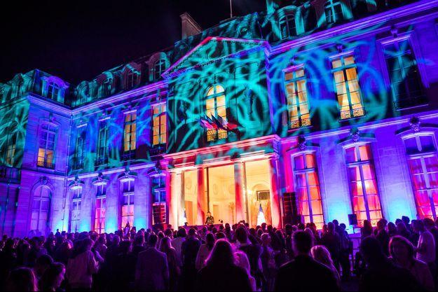 La Fête de la musique à l'Elysée, le 21 juin 2018.