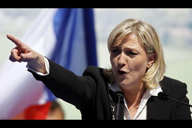 Marine Le Pen à Paris, le 1er mai dernier.