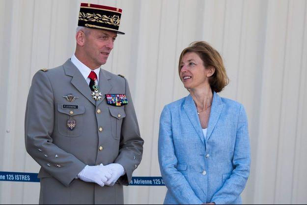 Le général François Lecointre et la ministre Florence Parly