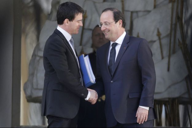 Manuel Valls a été reçu à l'Elysée ce mercredi.