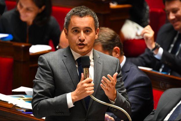 Gérald Darmanin à l'Assemblée nationale le 12 septembre.