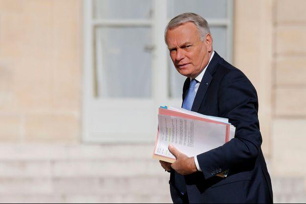 Jean-Marc Ayrault en août dernier.