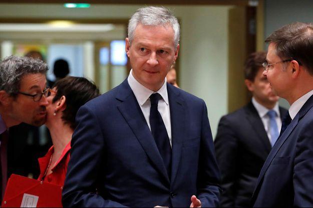 Bruno Le Maire vendredi à Bruxelles.