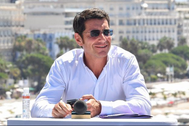 David Lisnard à Cannes, fin juin.