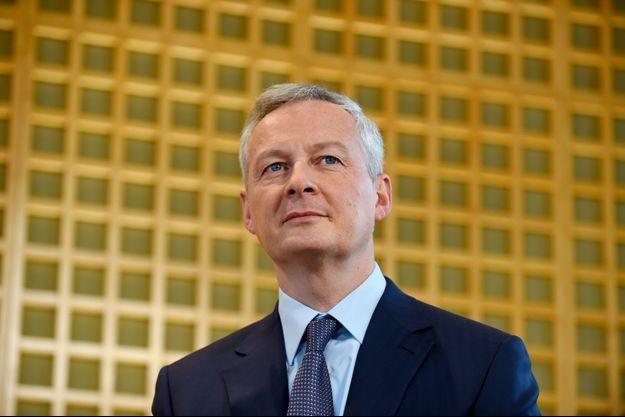 Bruno Le Maire à Bercy, lundi.
