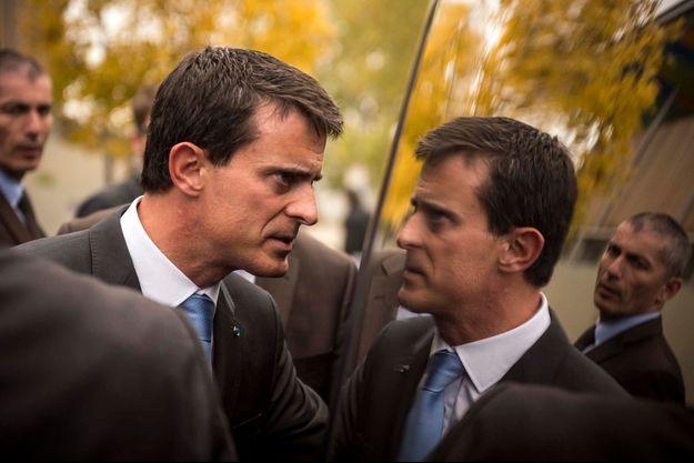 Manuel Valls aux Mureaux, le 26 octobre.