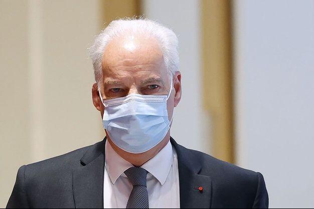 Alain Griset au tribunal de Paris, mardi.
