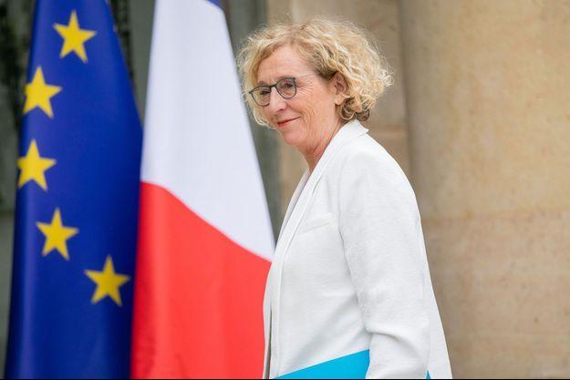 Muriel Pénicaud, la semaine dernière à l'Elysée.