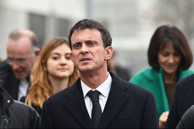 Manuel Valls à La Rochelle, le 15 décembre.