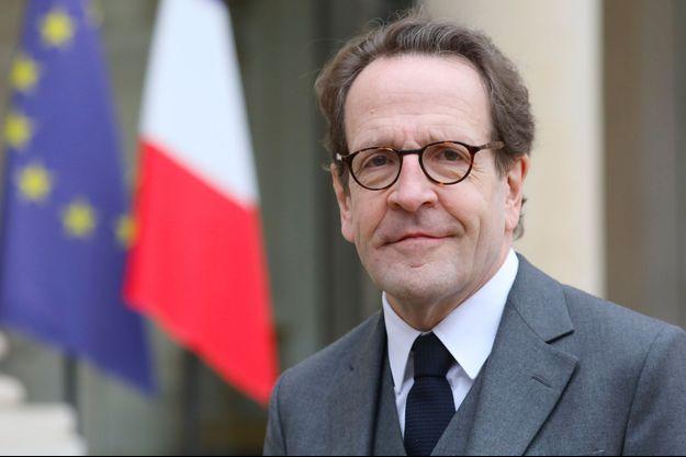 Gilles Le Gendre à l'Elysée, le 4 février.
