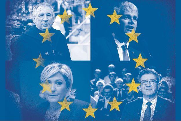Quatre ténors absents aux Européennes.