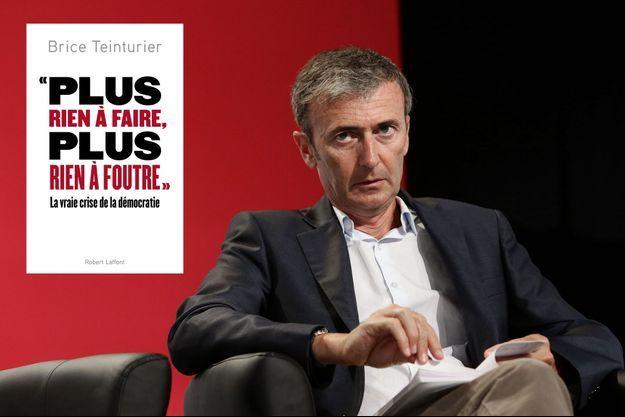 Brice Teinturier (le directeur général délégué de l'institut de sondages Ipsos) à l'université d'été du Parti Socialiste (PS) à La Rochelle, le 29 août 2015.