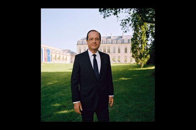 Le nouveau portrait officiel du président de la République.