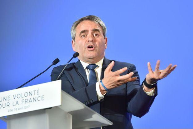 Xavier Bertrand, en avril 2017.