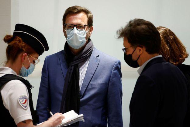 Jérôme Lavrilleux, jeudi à l'ouverture du procès Bygmalion.