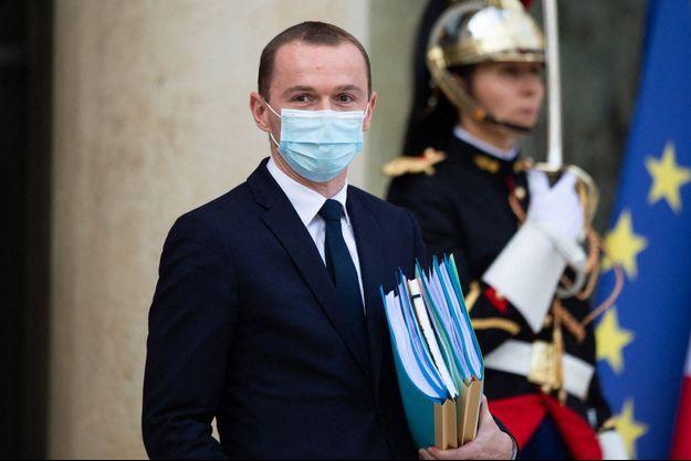 Le ministre des Comptes publics Olivier Dussopt.