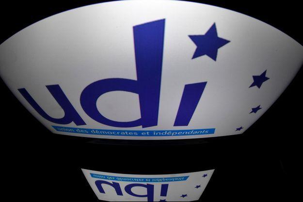Le logo de l'UDI, Union des démocrates et indépendants.