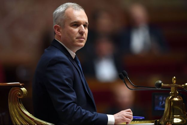 François de Rugy le 5 décembre 2017 à l'Assemblée Nationale