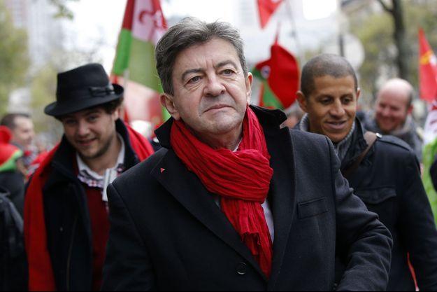 Jean-Luc Mélenchon le 1er décembre dernier.